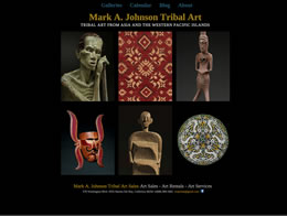Mark A. Johnson Tribal Art
